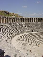 Das Theater in Aspendos