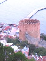 Roter Turm in Alanya